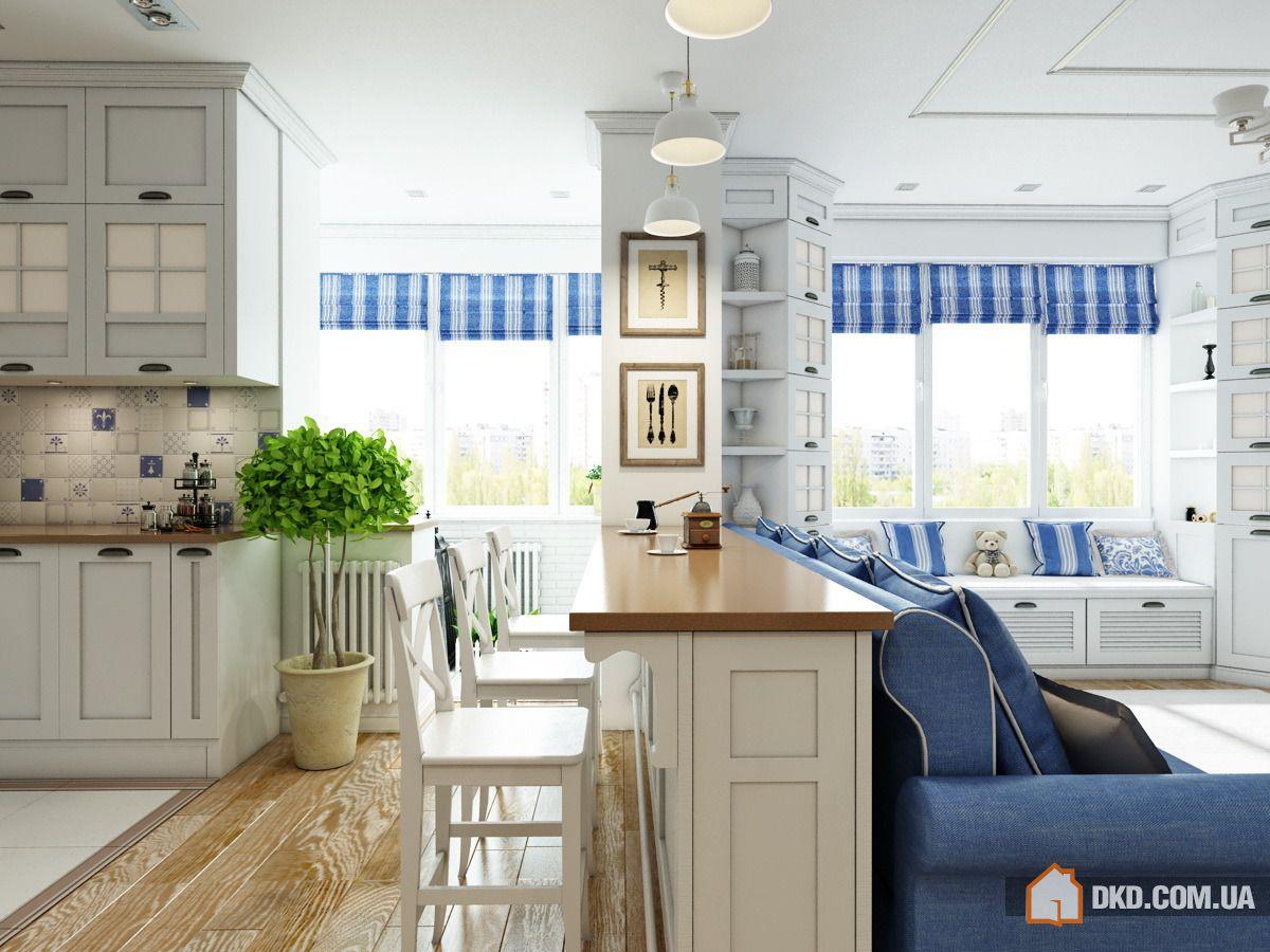Дизайн квартиры в стиле прованс.