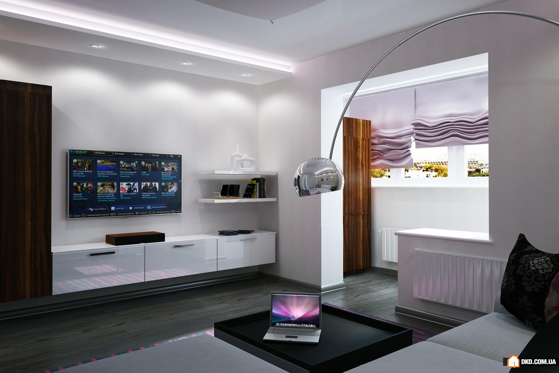 Квартира в современном стиле - интерьеры квартир, домов - my.