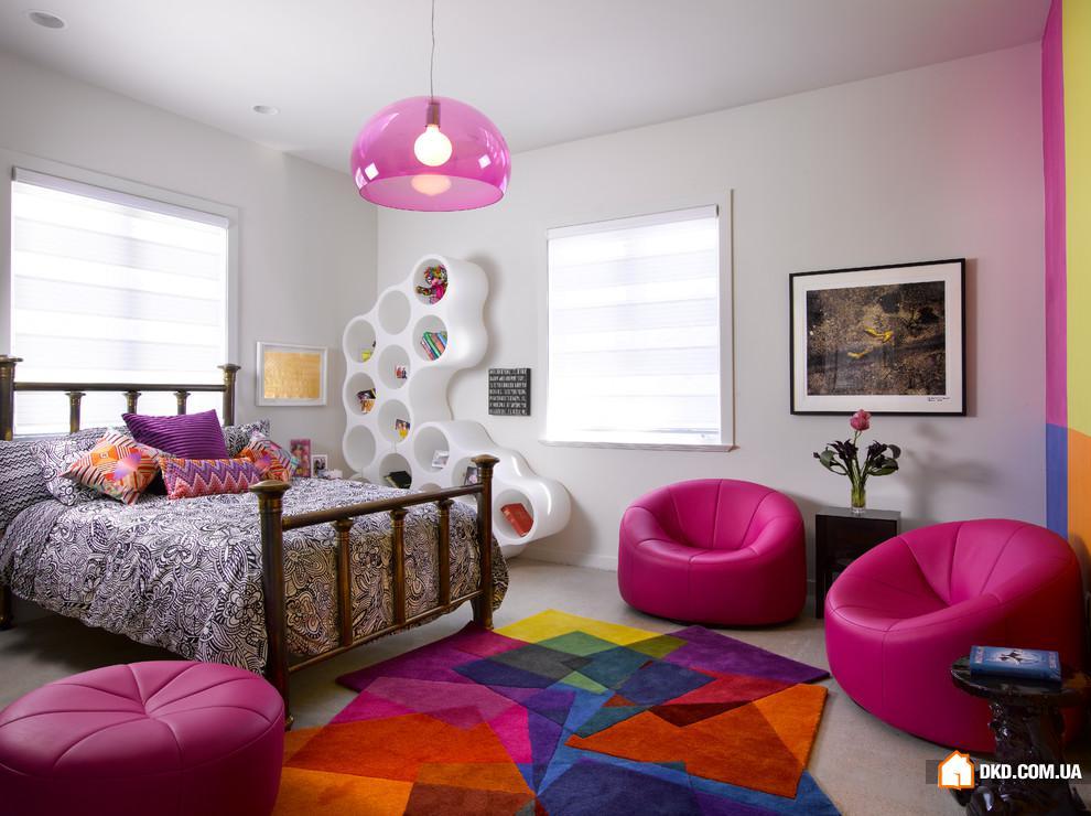 Интерьер спальни детской фото в современном стиле 12 кв.м в хрущевке