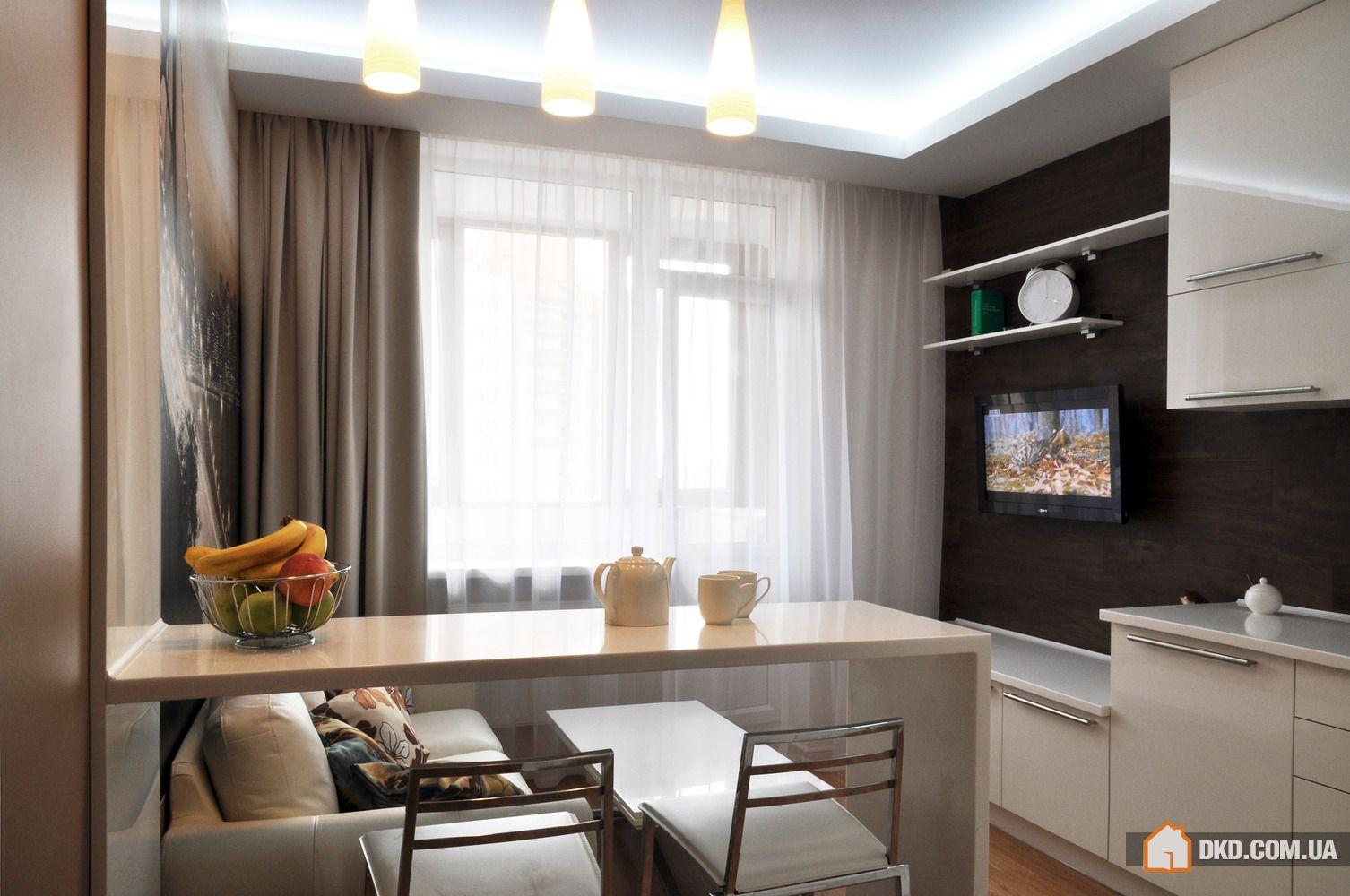 Дизайн кухни интерьера 18 кв м