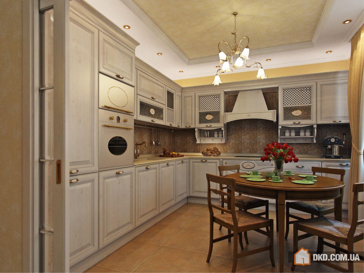 Дизайн классической кухни 8 кв м