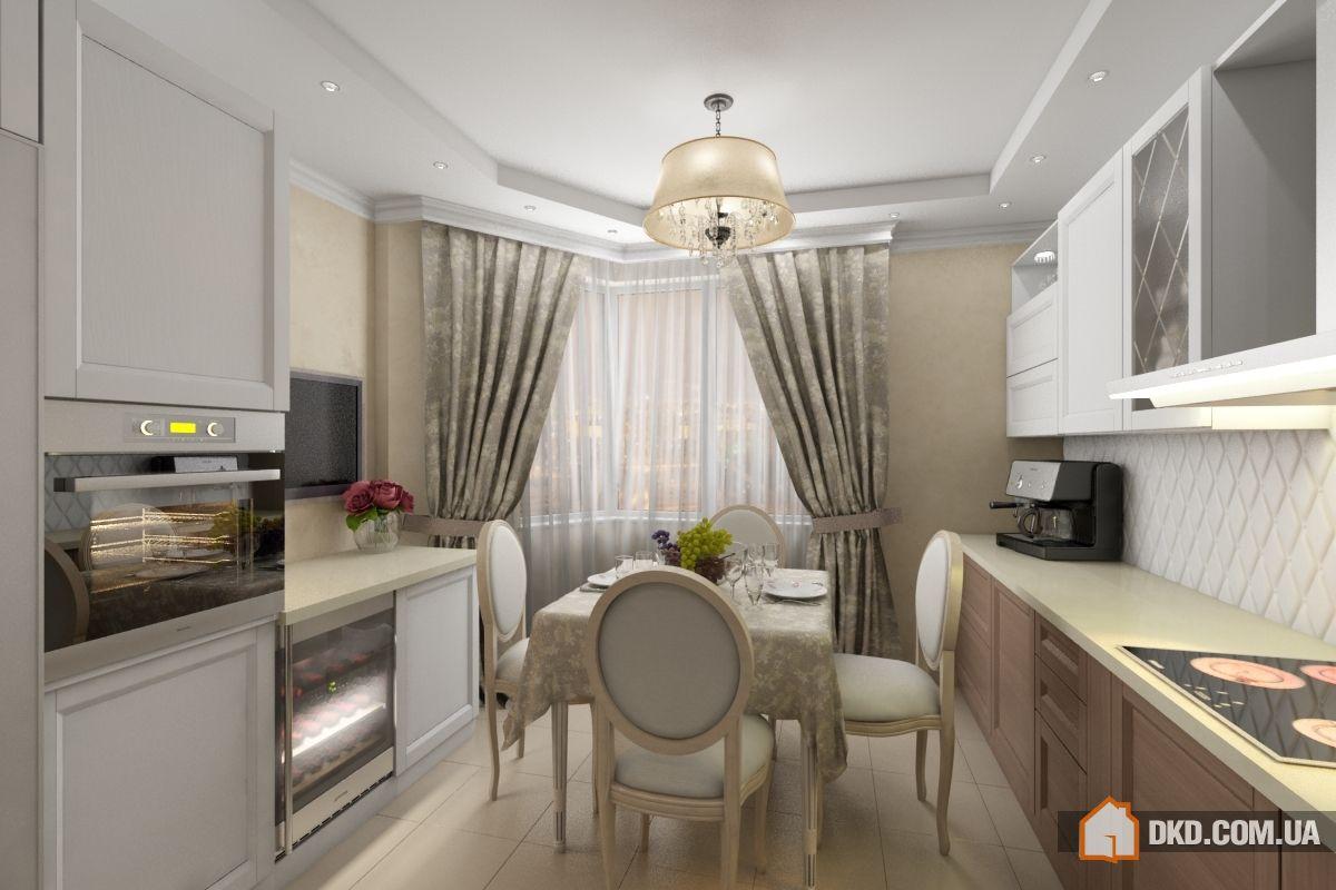 Дизайн кухни в классическом стиле в современном интерьере св.