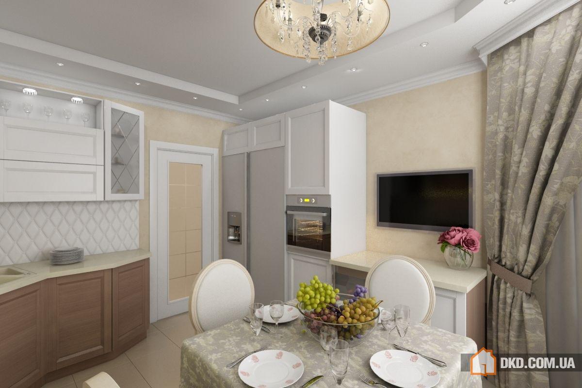 Кухня с эркером - дизайн интерьера и планировка (100 фото).