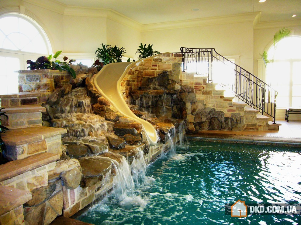 mansions with indoor pools