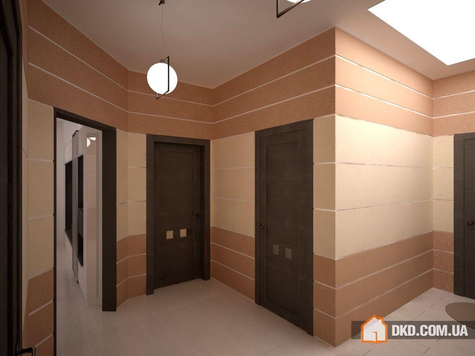 Коридор; холл, цвет коричневый - фото и дизайн на vivbo.ru.
