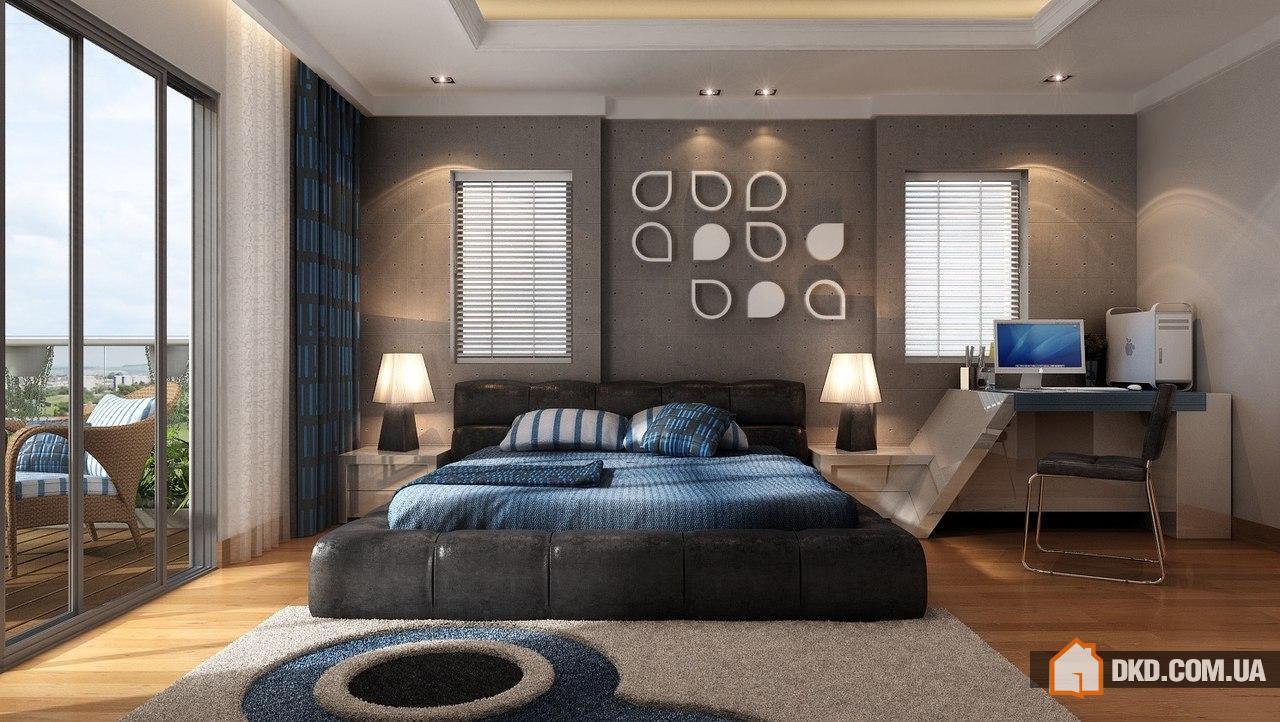 Современный интерьер спальни фото 2015 2016