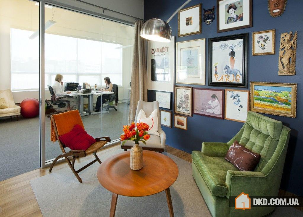 Интерьеры офисов Airbnb