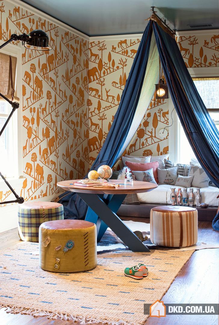Комната для юного путешественника