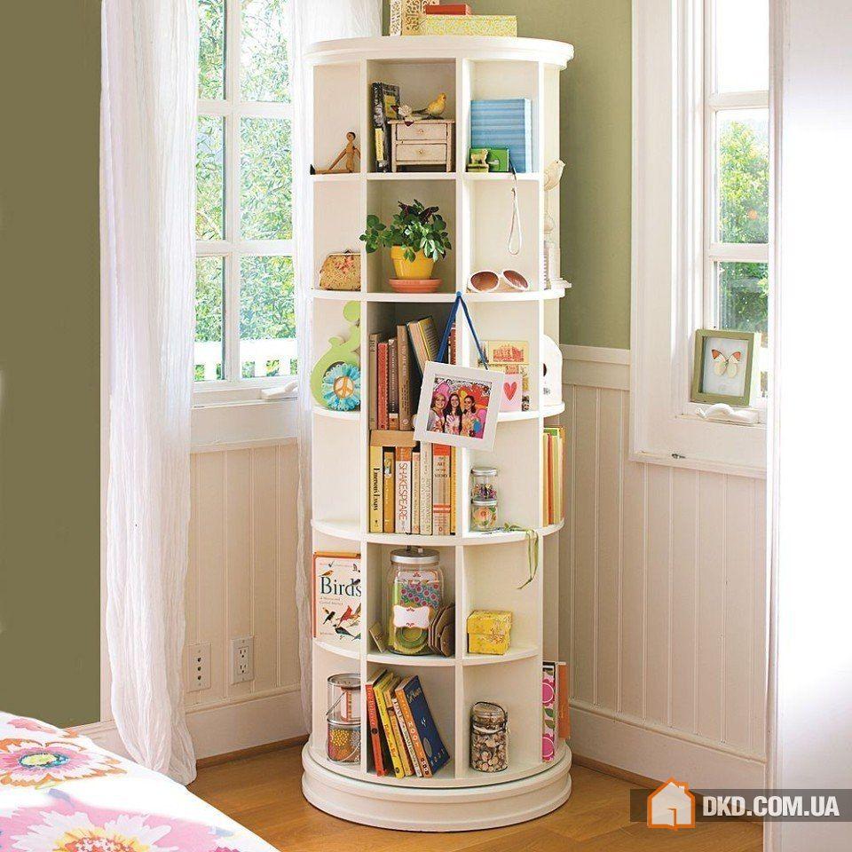 Идеи для хранения вещей в маленькой квартире (30 фото), умна.