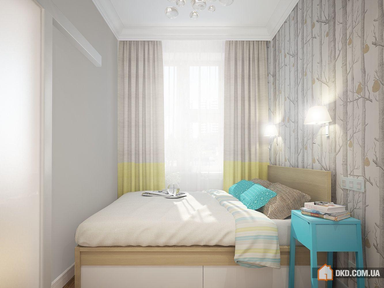 Дизайн спальни в «хрущевке» (94 фото реальные идеи ремонта) 16