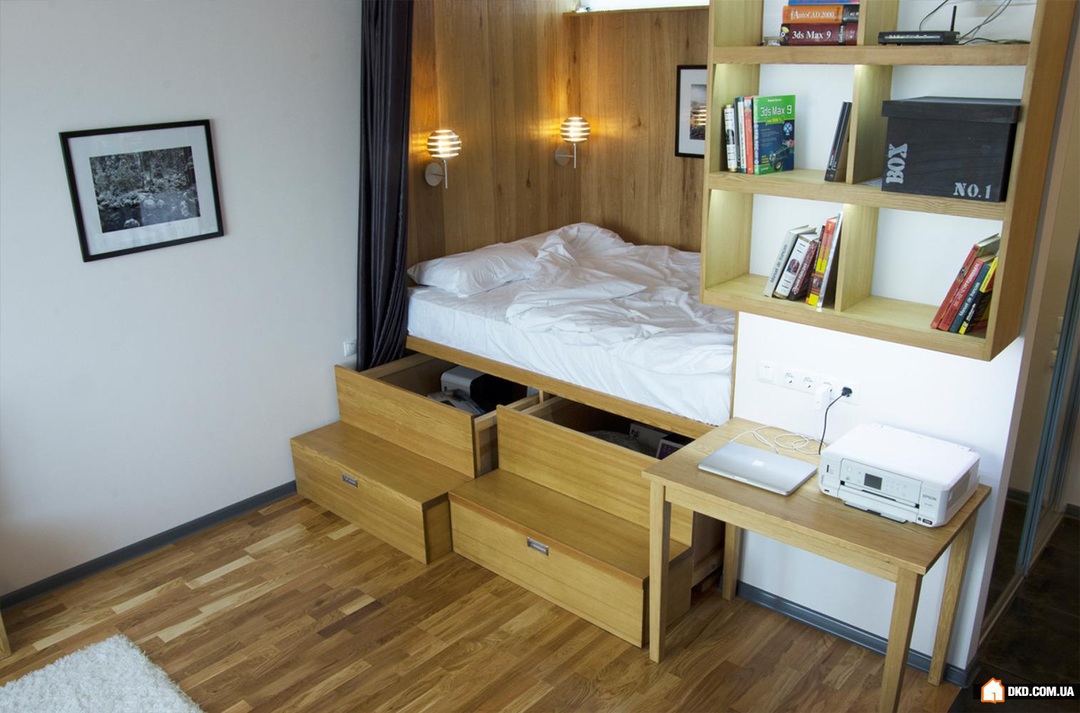 Интерьер маленькой квартиры в симферополе, 38 кв.м. фото рем.