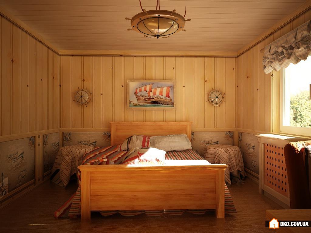 Комната отделана вагонкой дизайн
