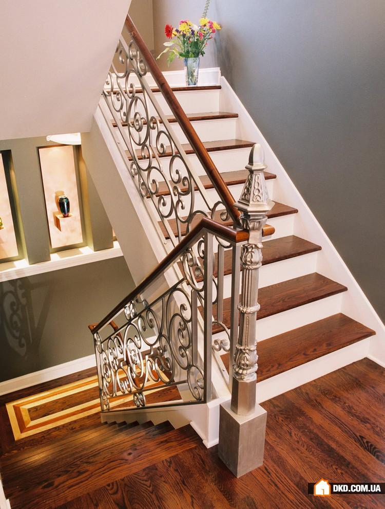 дизайны лестниц на второй этаж в частном доме фото